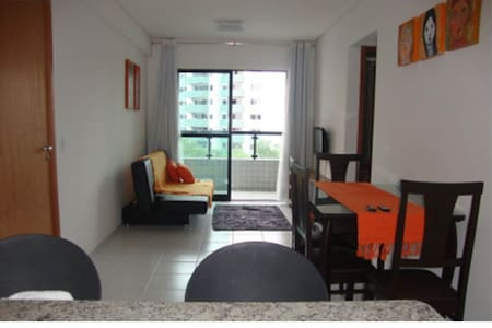 Apartamento Moderno com Wi-Fi e Piscina
