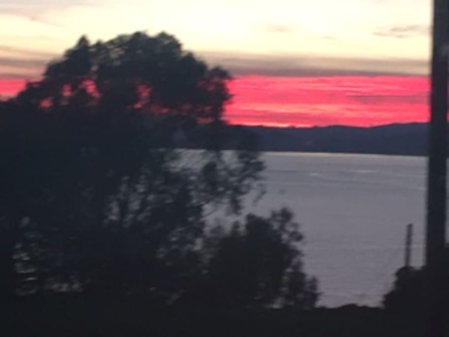 We get lovely sunsets every night, some more awesome than others!