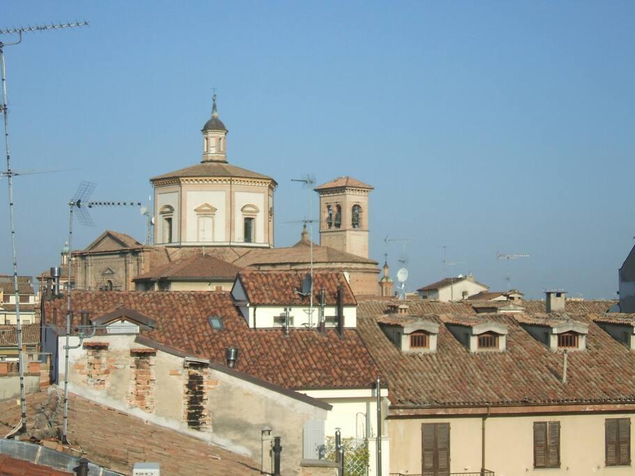 Voghera vista dai tetti