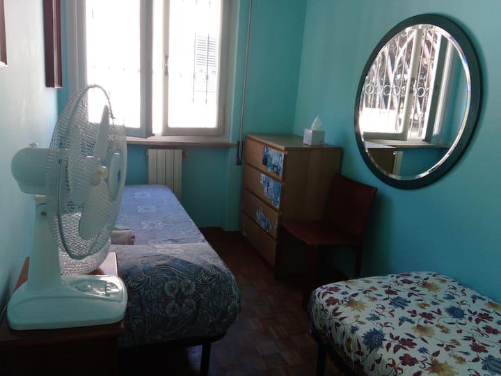 Stanza azzurra (camera doppia)