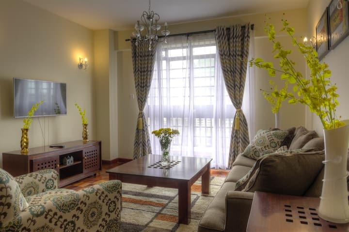 Sherry's 1 bedroom in the heart of Westlands