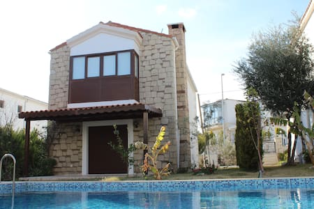 ALAÇATI 'DA TAŞ EV / STONE HOUSE - Alaçatı - 별장/타운하우스