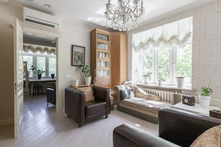 Business class in the quiet center - Moskva - Apartment