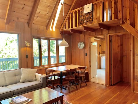 3 bd, 2.5 ba, Classic Cabin with Lake View