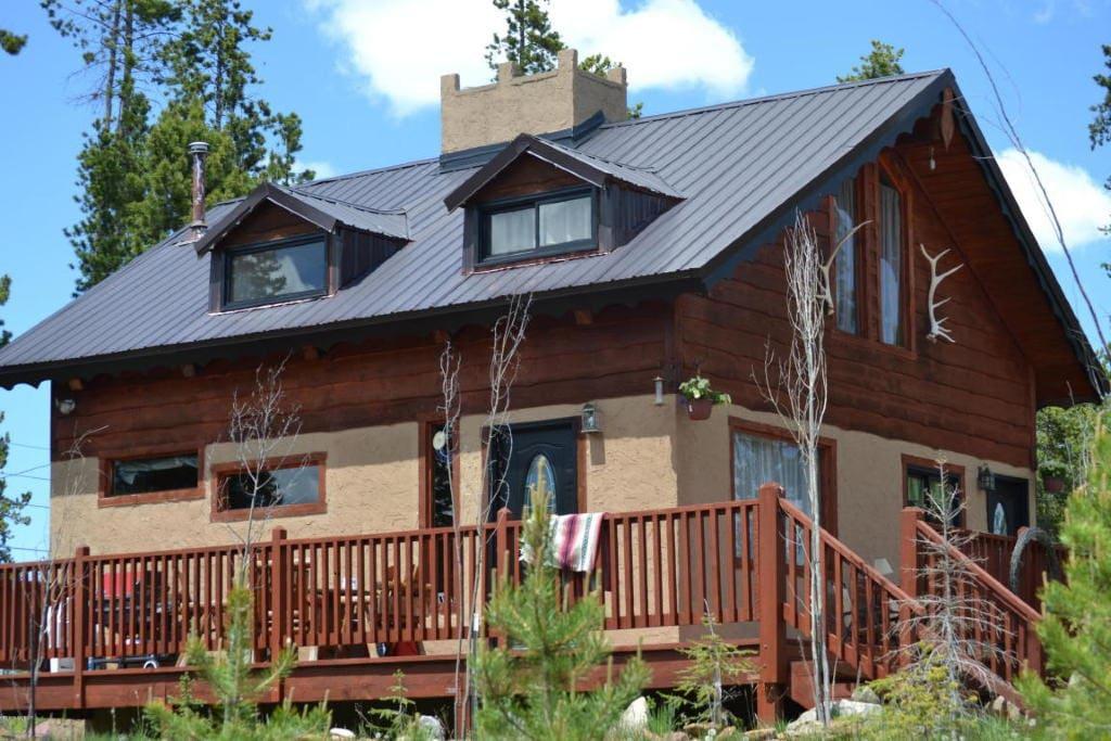 Grand lake alpine cabin aspen fall houses for rent in for Grand lake colorado cabin rentals
