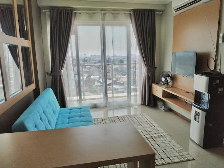 Clean and Minimalist 2BR Apartment Gateway Pasteur