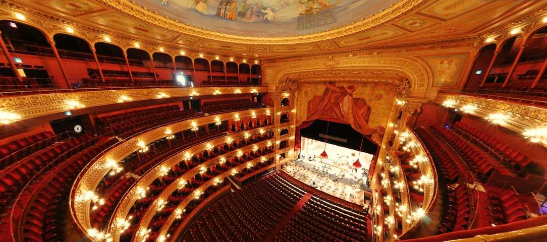 5 blocks away: Magnificent Teatro Colón, one of the most important lyric theaters of the world!