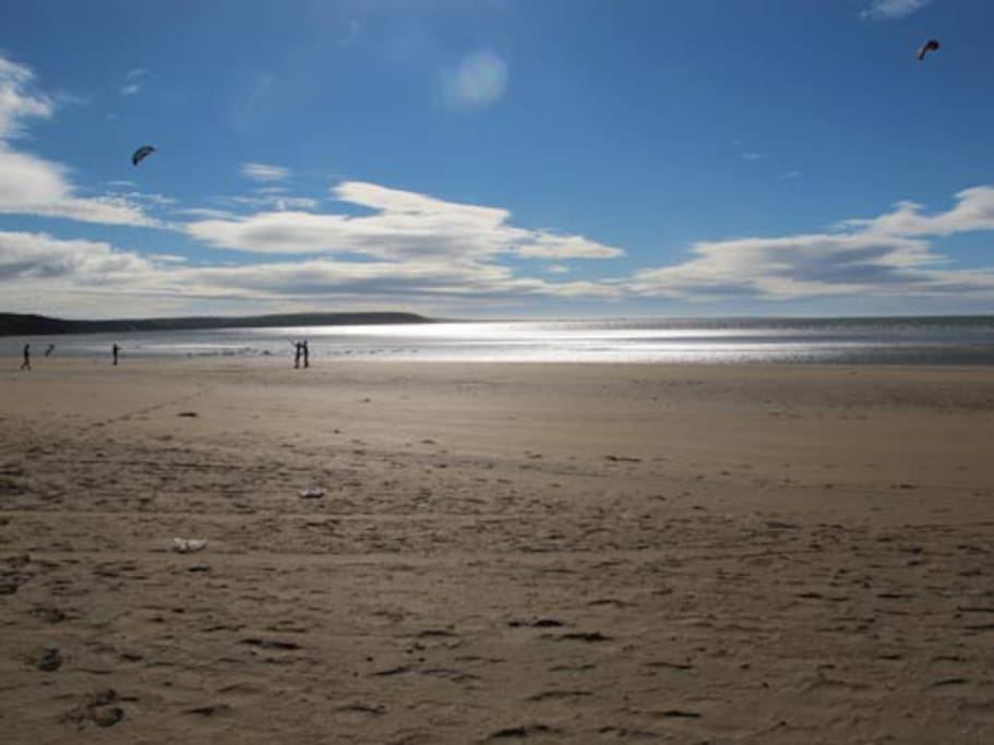 Duncannon Beach - half a minute's walk from property