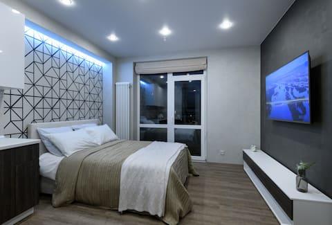 Happy Home - appartement avec balcon au 17ème étage!