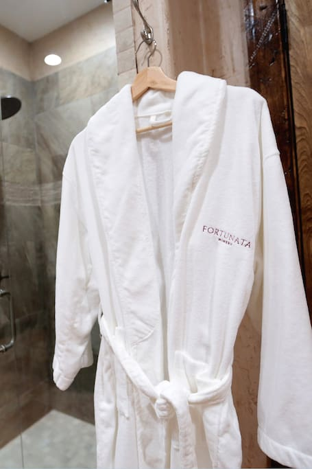 Spa Robes available in every room!