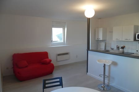 Beau studio meublé proche centre. - Amiens - Leilighet