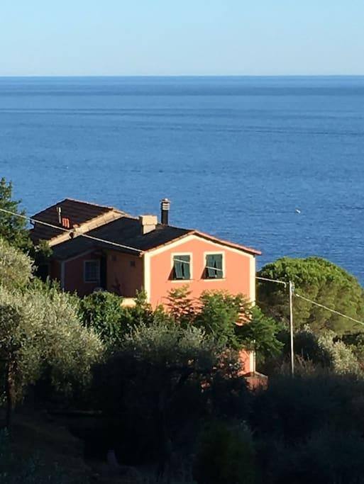 Casa e vista mare