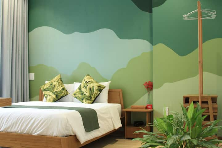 TheLocalStay*Double Room with Tropical Garden view