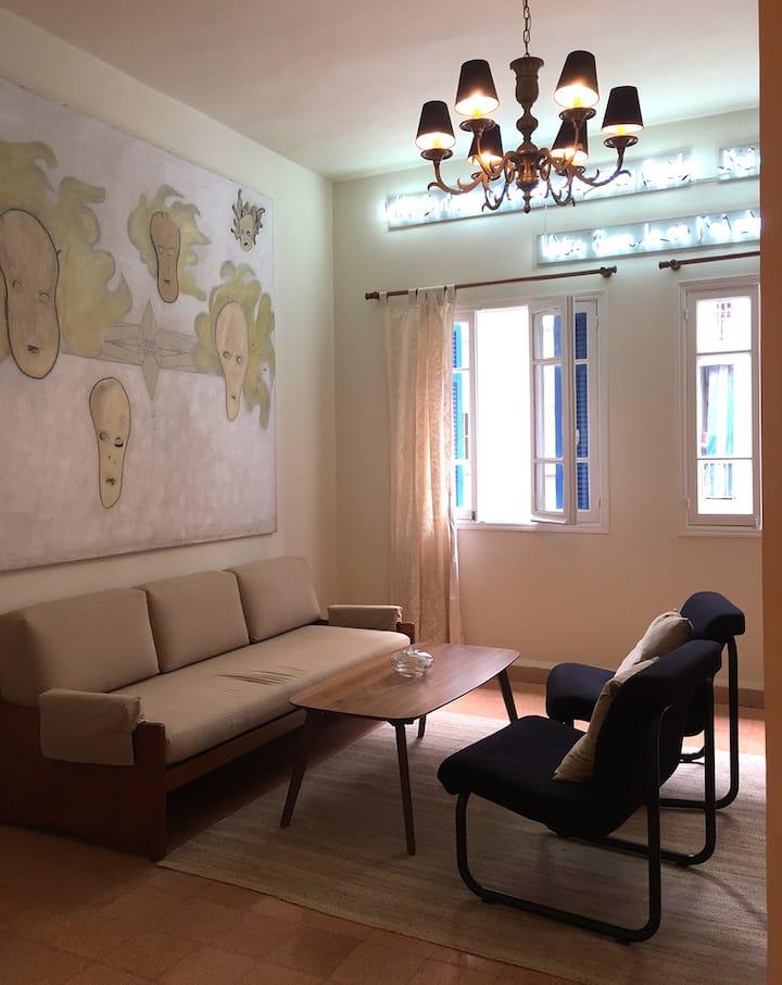 Charming Artist's Apartment in Achrafieh