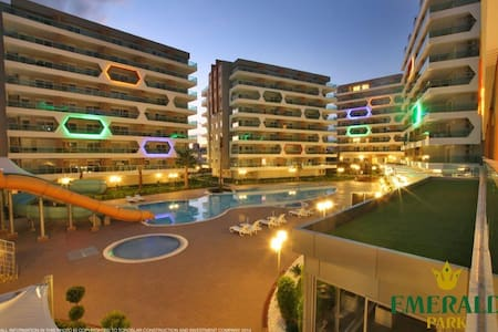 Great seaview apt in luxury complex - Alanya - Apartemen