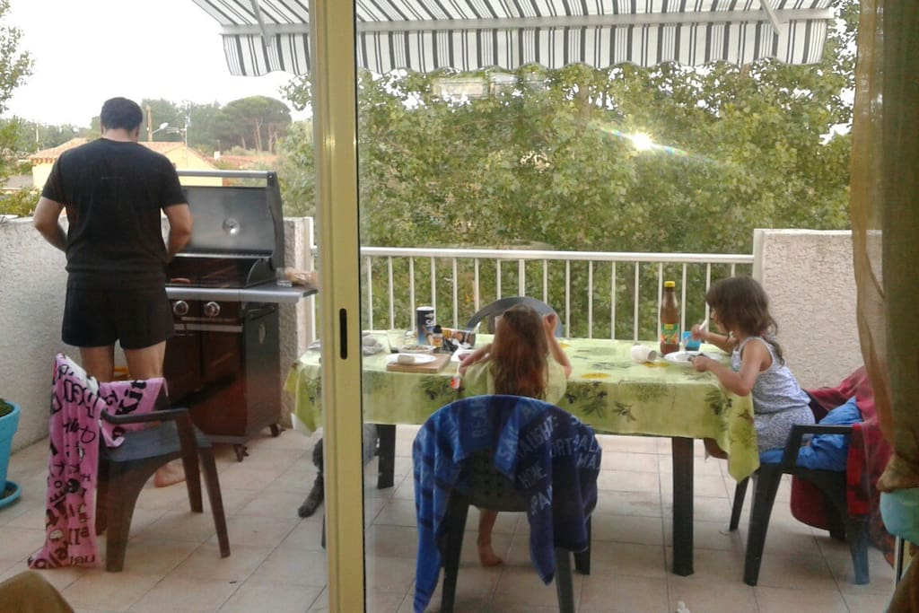This is our us!!... after beach barbecue