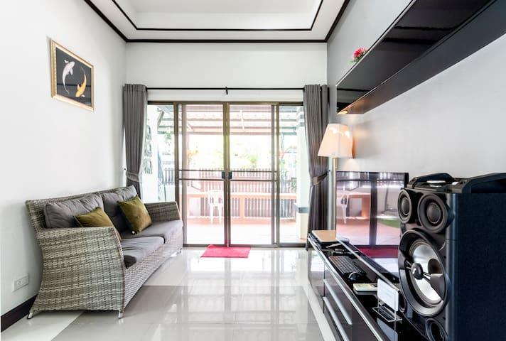 PTY☆Private Home◆Pool&Gym◆15 min Walking St會說中文❤️