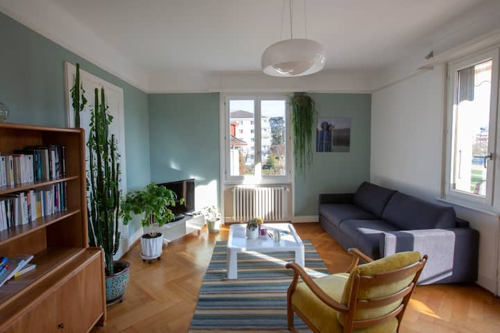 Nice flat located between Vevey and Montreux