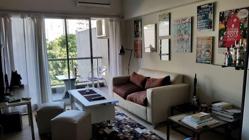 Charming an sunny one bed apartment  Buenos Aires