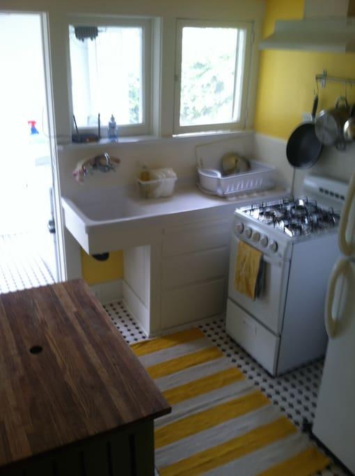 Original Kitchenette lovingly restored