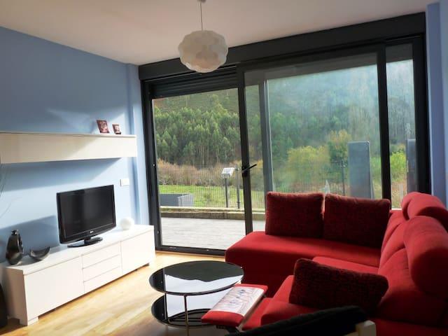 Apartamento de tres habitaciones en Caravia Alta - Caravia - Wohnung