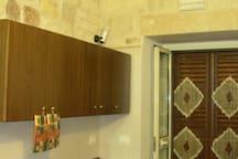 La cucina e l'ingresso Cucina