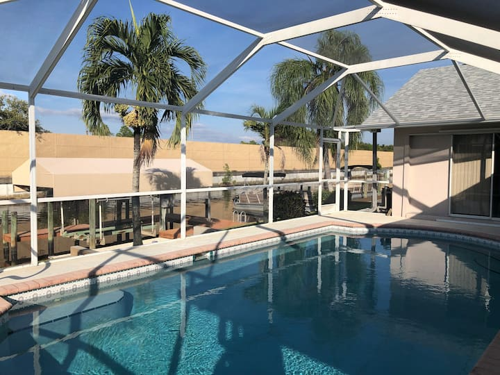 Beautiful 3/2 Canal Home with Pool