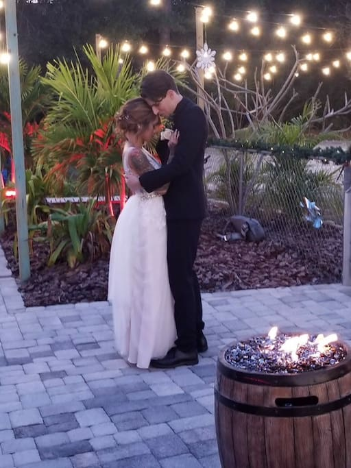 A perfect place for a backyard wedding!