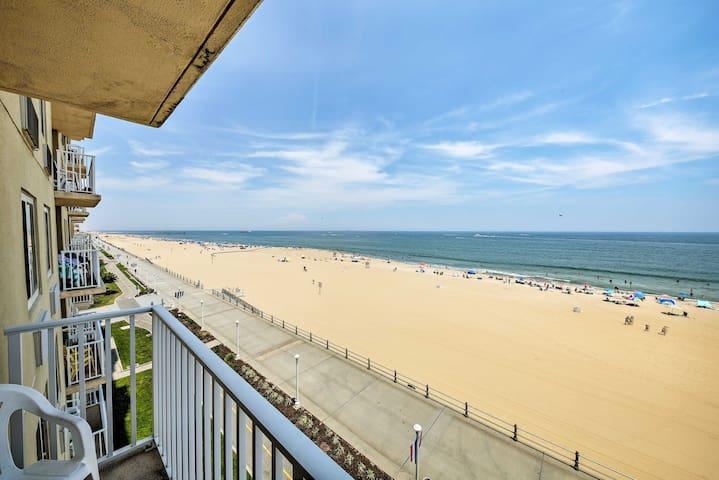NEW! Oceanfront Virginia Beach Condo on Boardwalk!