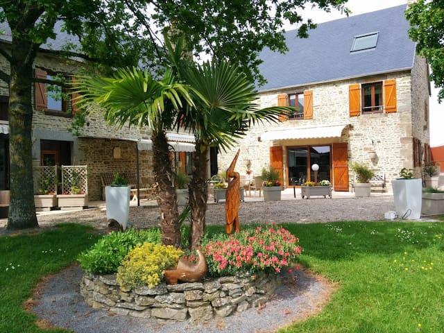 Gîte confortable dans la baie du Mont St Michel - Céaux - Apartment