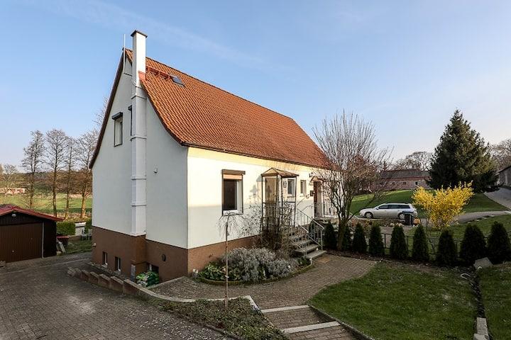 House 12 min from Szczecin, 5 min from Schwedt