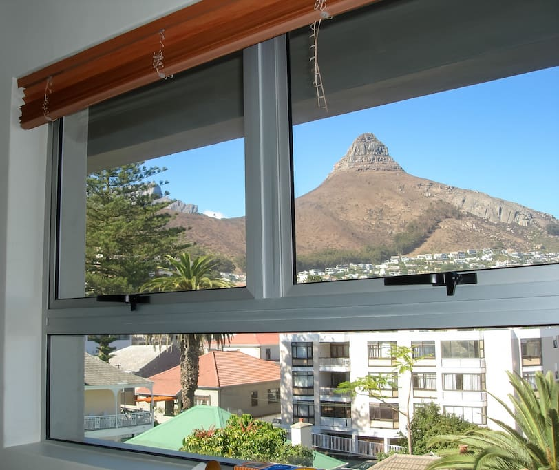 View of Lion's Head from 2nd bedroom