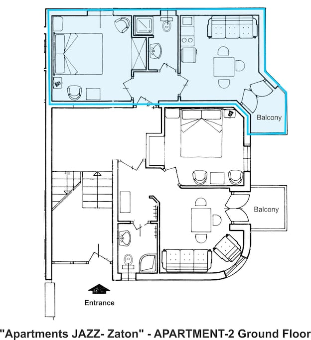 Apartment A2-Layout