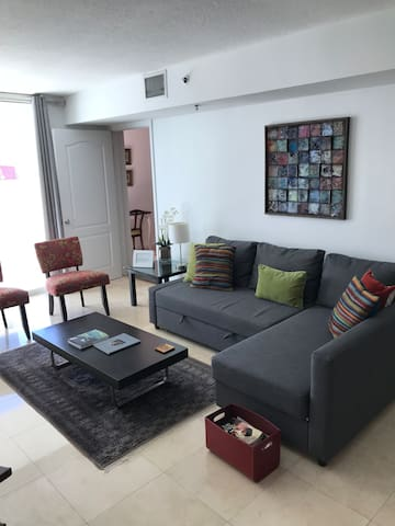 Brickell Large 2BR/2BH(8 p)Ocean View.Free Parking