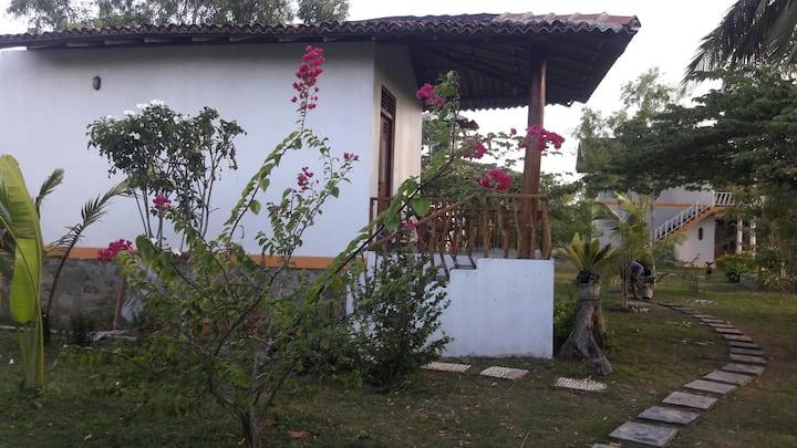 Nice cabana with the balcony!