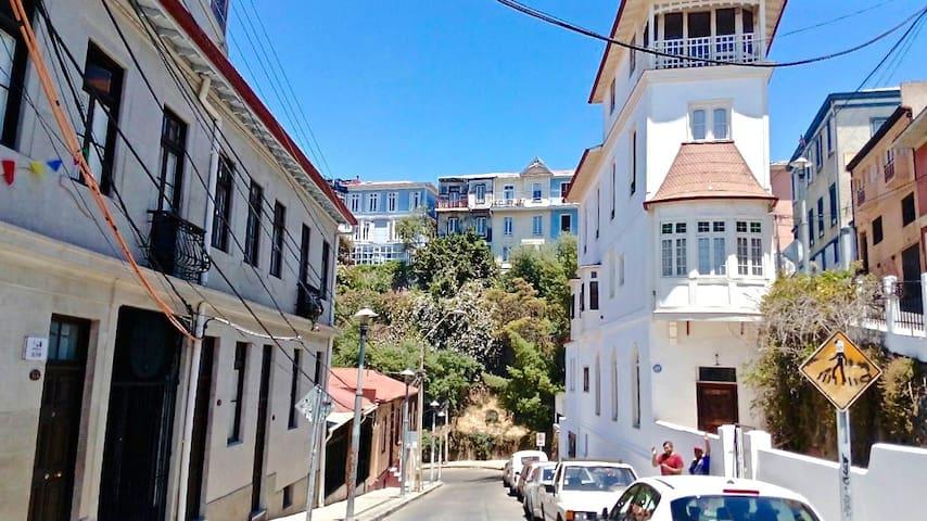 Room in Patrimonial Neighborhood - Valparaíso - Ev