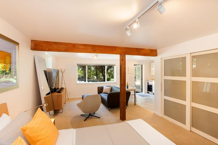 Contemporary Suite at Waterfront Park - Bainbridge Island - Apartment