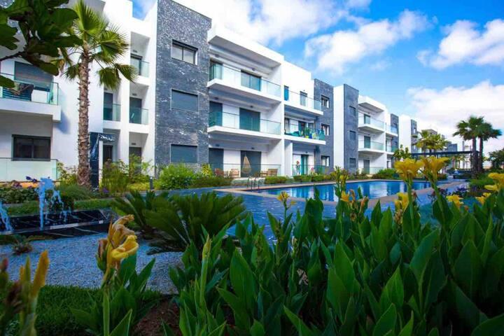 Garden Bay Beach Resort close to Casablanca