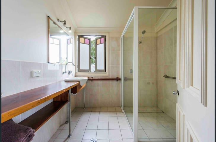 shared bathroom and toilet with 2nd airbnb guest room