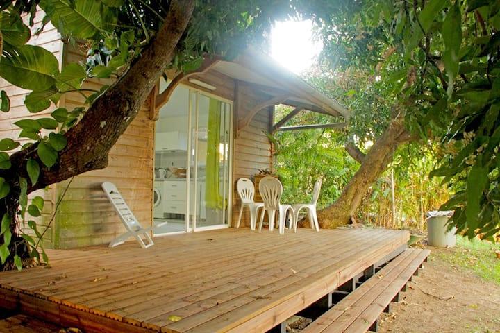 Villa Mayouma un havre de verdure à 5mn des plages