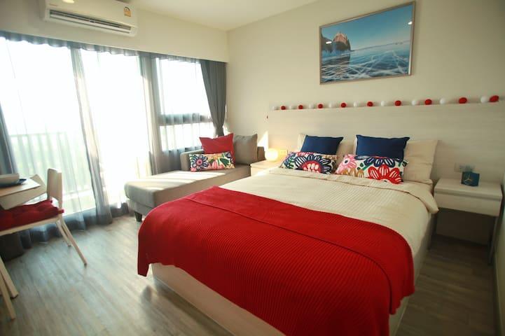 HuaHin apartment near beach, DusitD2 built 2020