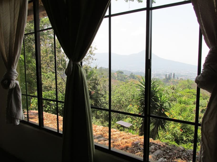 View from master room
