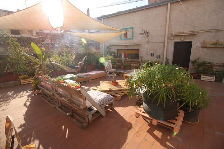 z Camera privata in centro con terrazza