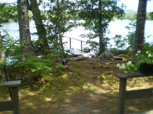 Waterfront Little Camp on Long Pond