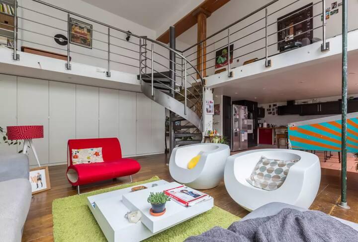 Chambre LORIS dans LOFT De 200 M²