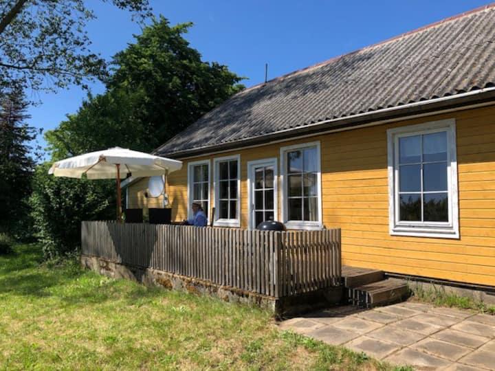 Schwedenhaus in Strandnähe (800m)
