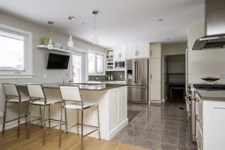 Bright luxurious central oasis - Ottawa - Rumah