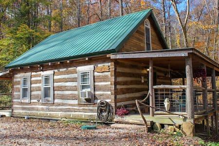 Montana Cabin Hocking Hills Ohio
