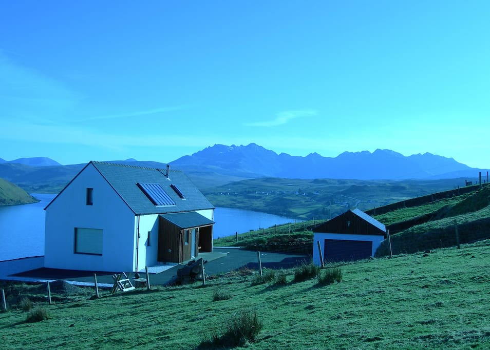 Calath and the Cuillin mountains.