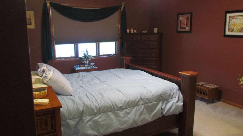 Large Bedroom suite with private bathroom!